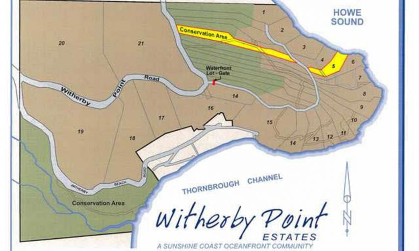 LOT 5 -  Witherby Point Road, Gibsons & Area, Sunshine Coast