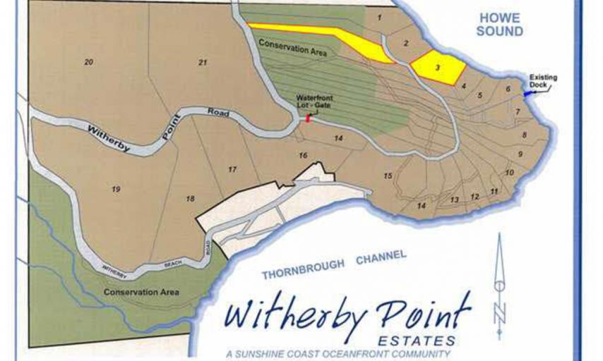 LOT 3 -  Witherby Point Road, Gibsons & Area, Sunshine Coast