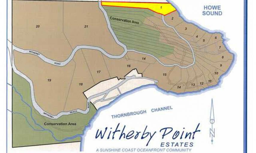 LOT 1 -  Witherby Point Road, Gibsons & Area, Sunshine Coast