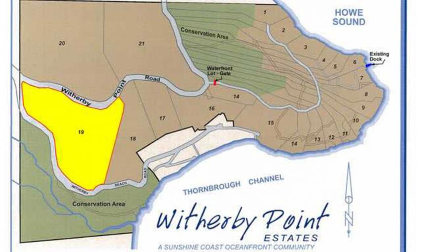LOT 19 -  Witherby Point Road, Gibsons & Area, Sunshine Coast