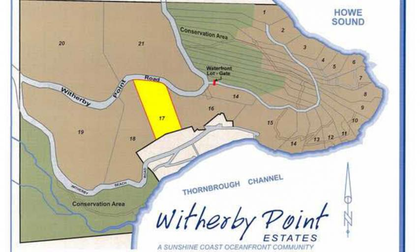 LOT 17 -  Witherby Point Road, Gibsons & Area, Sunshine Coast