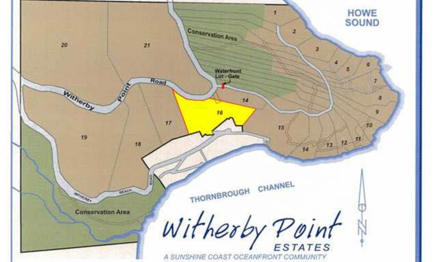 LOT 16 -  Witherby Point Road, Gibsons & Area, Sunshine Coast