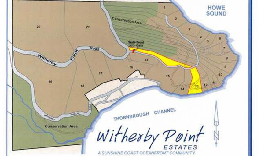 LOT 13 -  Witherby Point Road, Gibsons & Area, Sunshine Coast